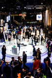 Volkswagen Exhibit at CES 2017 Royalty Free Stock Photo