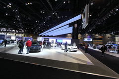 Volkswagen exposition. Chicago auto show February 2011 Royalty Free Stock Images