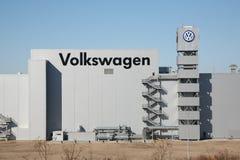 Volkswagen-fabriek in Chattanooga, TN Royalty-vrije Stock Afbeeldingen