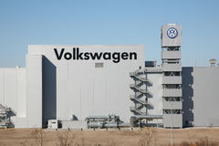 Volkswagen factory in Chattanooga, TN Royalty Free Stock Images