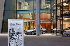 Volkswagen Factory Stock Photo