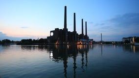 Volkswagen Factory in Wolfsburg, Germany stock video footage