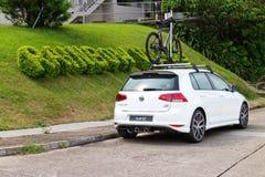 Volkswagen Golf 2014 Royaltyfri Fotografi