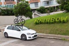 Volkswagen Golf 2014 Royaltyfri Foto
