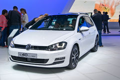 Volkswagen Golf Royaltyfri Fotografi