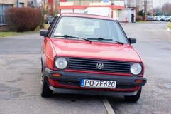 Volkswagen Golf Arkivfoto