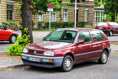 Volkswagen Golf Arkivbilder
