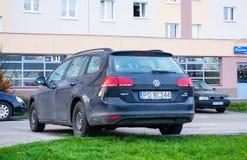 Volkswagen Golf Arkivbild