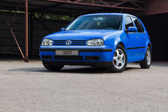 Volkswagen Golf Royaltyfria Foton