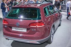 Volkswagen Golf Alltrack Royaltyfria Foton
