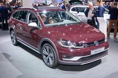 Volkswagen Golf Alltrack Arkivbild