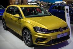 Volkswagen Golf-Auto lizenzfreies stockbild
