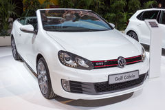 2015 Volkswagen Golf Cabrio GTI Royalty Free Stock Photo