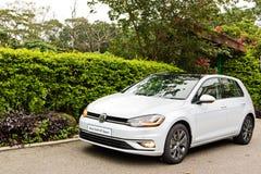 Volkswagen Golf GT 2017 testar drevdag Royaltyfri Bild