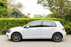Volkswagen Golf GT 2017 testar drevdag Arkivbild