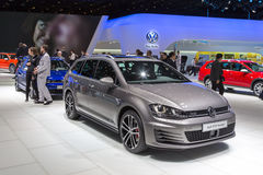 Volkswagen Golf GTD variant 2015 Royaltyfri Foto