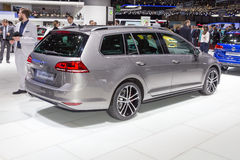 2015 Volkswagen Golf GTD wariant Obrazy Royalty Free