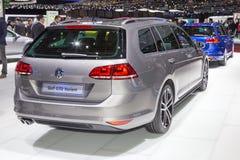 2015 Volkswagen Golf GTD wariant Zdjęcie Royalty Free
