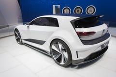 Volkswagen Golf GTE Bawi się Obraz Stock