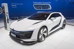 Volkswagen Golf GTE Bawi się Obrazy Royalty Free
