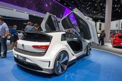 Volkswagen Golf GTE Sport Concept car Stock Images