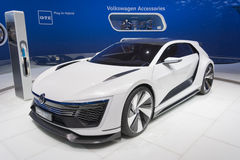 Volkswagen Golf GTE Sport Royalty Free Stock Images