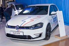 Volkswagen Golf GTE Stock Photo