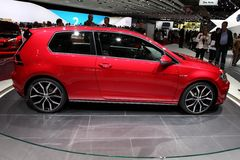 Volkswagen-Golf GTI Stockbild