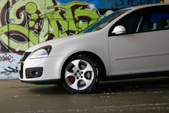 Volkswagen golf gti. New volkswagen golf gti front Stock Photography