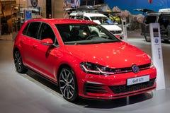 Volkswagen Golf GTI bil royaltyfri fotografi