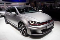 Volkswagen Golf GTI bil Fotografering för Bildbyråer