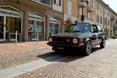 Volkswagen Golf GTi am circuito di Zingonia 2014 Lizenzfreie Stockfotografie