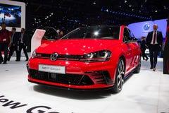 Volkswagen Golf GTI Clubsport fotos de archivo