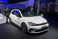 Volkswagen Golf GTI Clubsport - światowy premiera Zdjęcia Stock