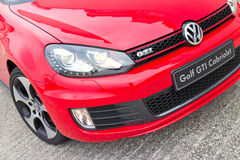 Volkswagen Golf GTI kabrioletu 2013 model Obraz Stock