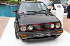 Volkswagen Golf II 1983-1991 Model Royalty Free Stock Photos
