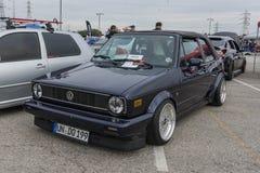 Volkswagen Golf Mk1 Cabriolet Stock Photography