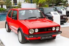 Volkswagen Golf 1974-1983 modell Arkivbild