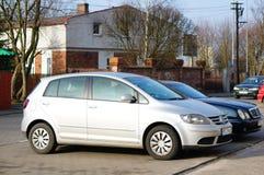 Volkswagen Golf plus Royaltyfri Bild