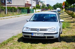Volkswagen Golf Royalty Free Stock Photography