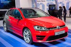 Volkswagen Golf R handlag Royaltyfri Fotografi