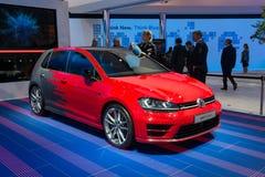 Volkswagen Golf R handlag Royaltyfri Foto