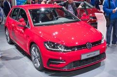 Volkswagen Golf R-linje Royaltyfri Foto