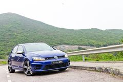 Volkswagen Golf R 2014 2015 Version Stock Photography