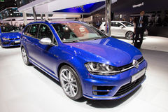 Volkswagen Golf R wariant Obrazy Royalty Free