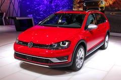 A Volkswagen Golf TSI Stock Photo