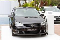 Volkswagen Golf V modell 2003-2008 Royaltyfri Foto