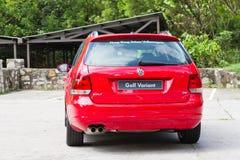Volkswagen Golf Variant 2012. This is basic model in euro avant car Stock Images