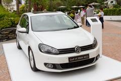Volkswagen Golf VI modell 2008-2012 Arkivbild