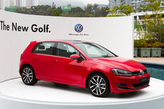 Volkswagen Golf VII 2013 Model Stock Photo